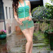 Very slim central Asian escort in London
